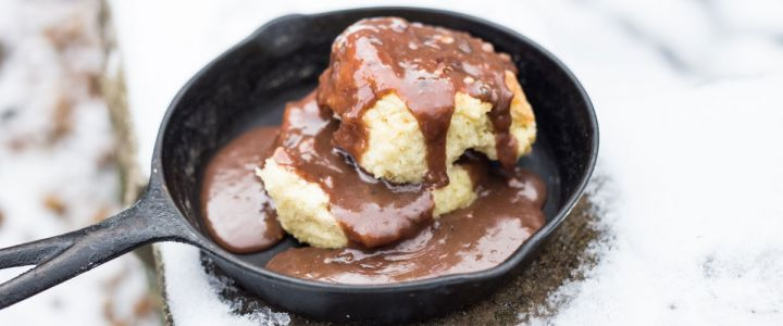 Chocolate Gravy Food Photography Southern Food